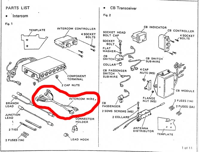 1981 honda goldwing radio wiring diagram block and schematic rh lazysupply co